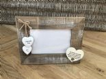 Shabby personalised Chic Photo Frame Auntie Aunty Great Aunt Gift  Present - 253402786032